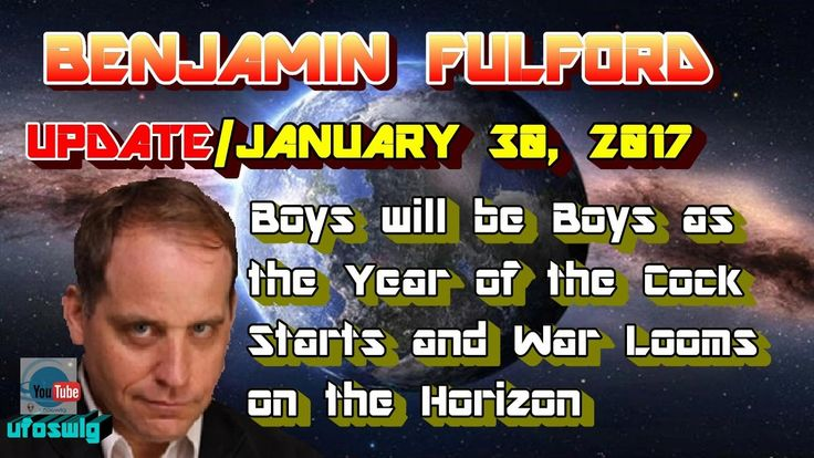 Benjamin Fulford: January 30, 2017