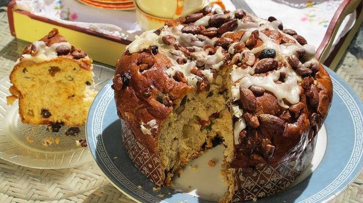 Recetas muy saludables : Pan dulce con frutas y cognac