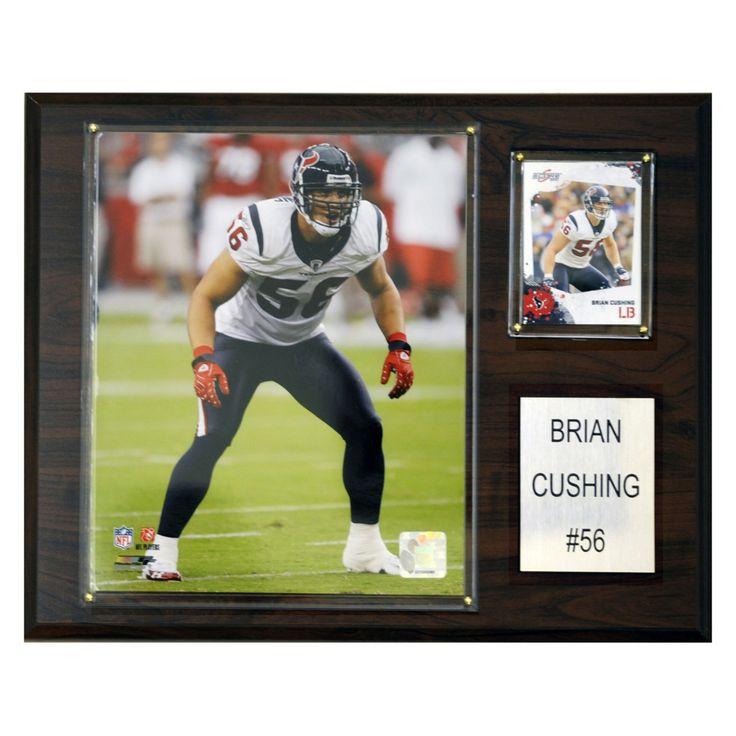 NFL 12 x 15 in. Brian Cushing Houston Texans Player Plaque - 1215CUSHING
