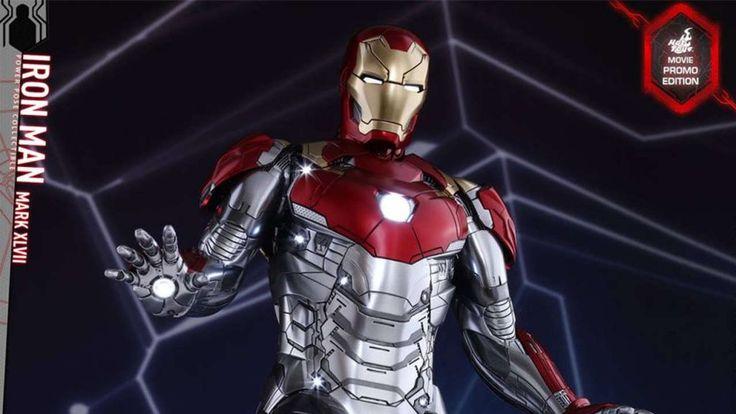 Hot Toys apresenta o novo Homem de Ferro de Homem Aranha De Volta ao Lar, bem diferente do que estamos acostumados.