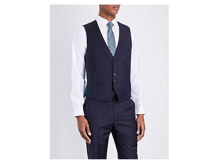 TED BAKER Douanw Debonair wool waistcoat