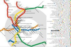 Interactive Washington Metro map - love the PacMan version, too