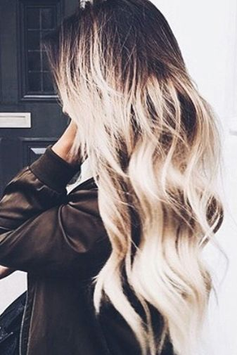 This hair is giving us life ✨ // turn heads and transform your look with our extensions; shop link in our bio