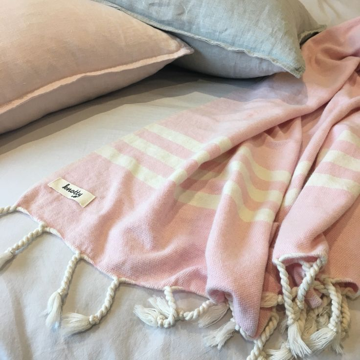 Your Mum will be tickled pink when she receives our new Rose Quartz blanket this Sunday! Find this and other new lovely colours online now at www.knotty.com.au