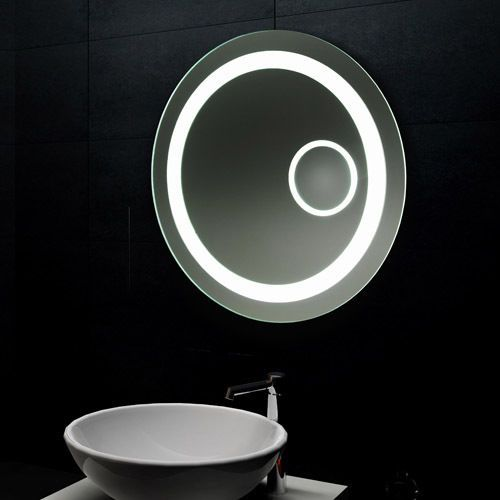 Lux Aqua Design Lichtspiegel Led Beleuchtung Mit Schminkspiegel