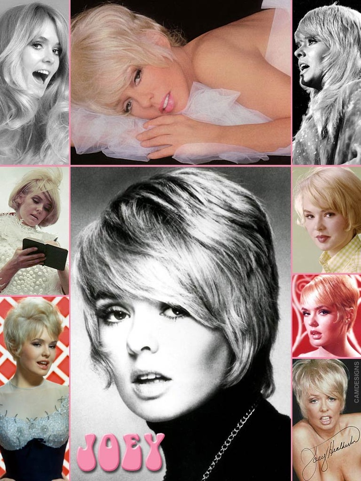 "Davenie Johanna ""Joey"" Heatherton (b. Sept. 14, 1944) is an American actress, dancer, & singer. She began her career as a child actress, appearing in 1959 as a member of the ensemble & an understudy in the original Broadway production of The Sound of Music. She was a fixture on TV variety shows such as The Dean Martin Show, & appeared in Bob Hope's USO show between 1965 & 1967, entertaining the GIs with her singing, dancing & provocative outfits. She also enjoyed success with her Las Vegas…"