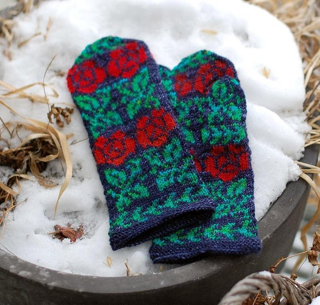 183 best Knit - Mittens images on Pinterest | Knit mittens ...