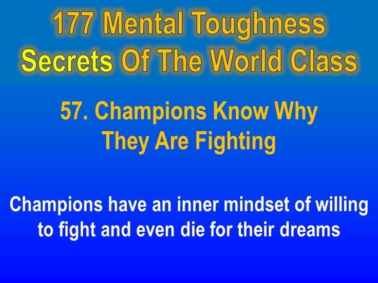 Ways to improve your mental toughness picture 1