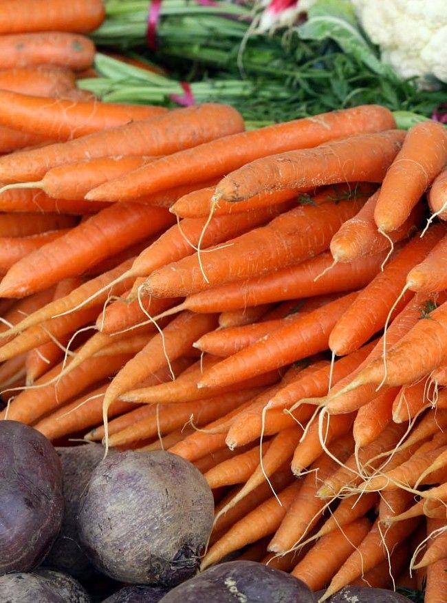 Fofvelling av grønnsaker før frysing