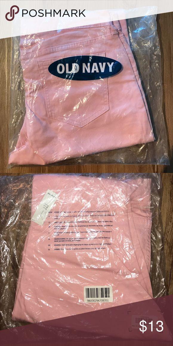 Old Navy pink Skinny jeans Brand new, in package, Rockstar style pink skinny jeans. Size 16 Old Navy Jeans Skinny