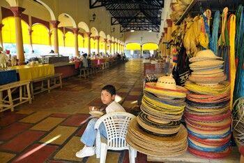 Mercado tradicional en Lorica, Córdoba