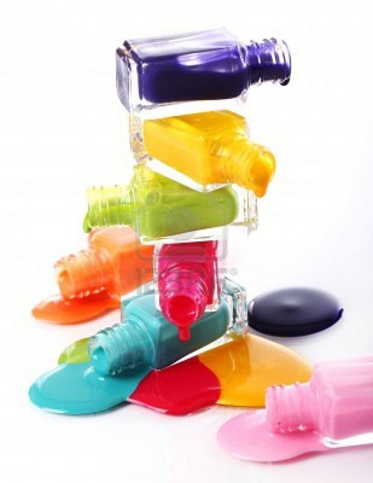 spilled nail polish coloring pages - photo#19
