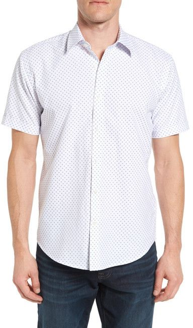 James Campbell Coaster Regular Fit Short Sleeve Sport Shirt