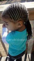mainly braids: cornrow & braid styles