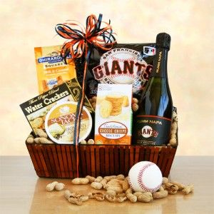 35 best special baskets of fruits images on pinterest petit fours our exclusive sf giant all star gift basket featuring mumm champagne and ghirardelli chocolate negle Images