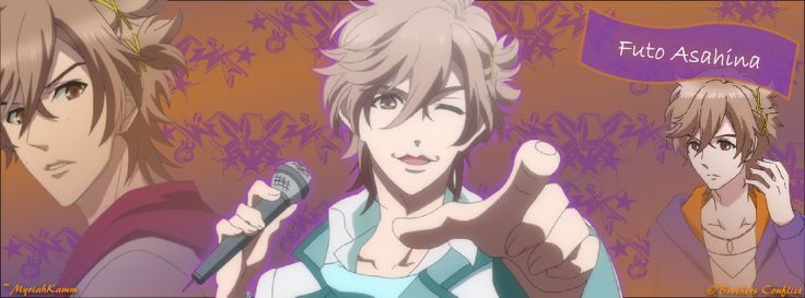 Futo Asahina, from Brothers Conflict. FB cover size.