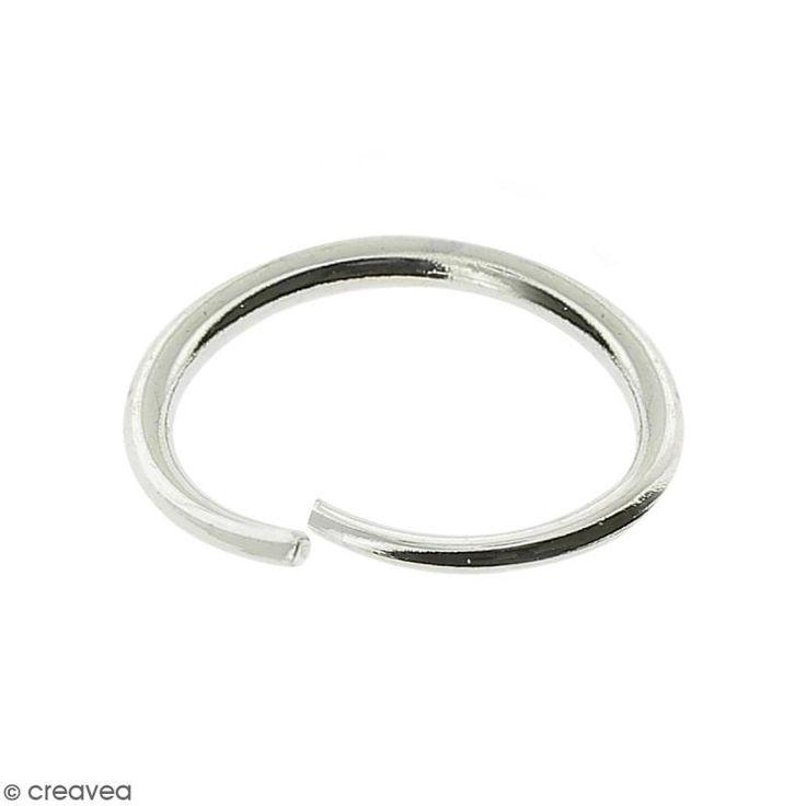 Compra nuestros productos a precios mini Anillos ovalados abiertos - Diámetro 6 mm - Metal plateado - 6 x 4 x 1 mm - 50 uds - Entrega rápida, gratuita a partir de 89 € !