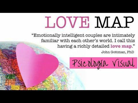 Liked on YouTube: Mapa del amor o Lovemap #Psicología Visual Un buen mapa del amor muestra las inclinaciones hacia un determinado estilo de persona de la que nos podemos enamorar debido a que se adapta a nuestra idea de pareja ideal para nosotros. Pensamos que es lo suficiente parecida y diferente a nosotros como para que la relación funcione. La estructuración del mismo es a veces inconsciente ya que es fruto de la trayectoria vital formada por experiencias creencias emociones o estímulos…
