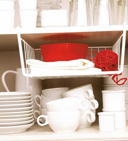 Abhängen und Stauraum nutzen - Ideen für die Küche 3 - [LIVING AT HOME]