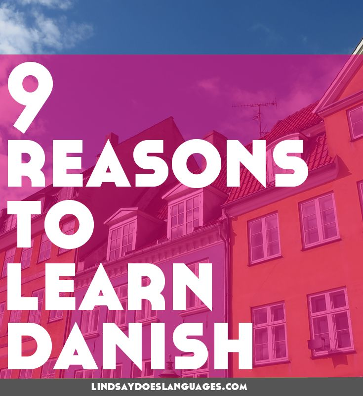 In need of some inspiration learning Danish? Here are our 9 reasons to learn Danish nicely packaged into one handy video!