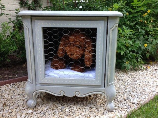 WHIMSICAL SHABBY CHIC vintage French style Dog bed by TwoWhimsies, $300.00