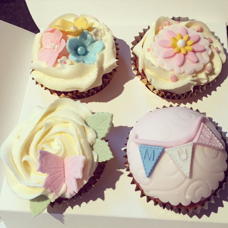 Mother's Day cupcakes so pretty