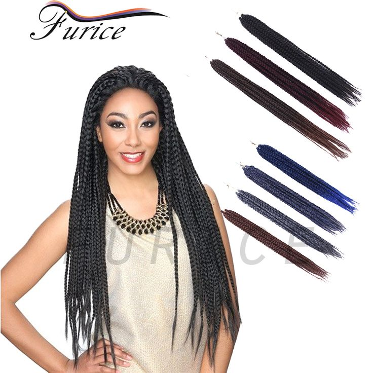 18inch Expression Synthetic Braiding Hair #27 Blonde Hair Extensions Box Braids Crochet Havana Mambo Twist African Hairstyles