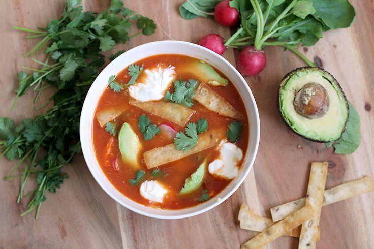 Culy Homemade: Mexicaanse tortilla soep (vega én snel!) -