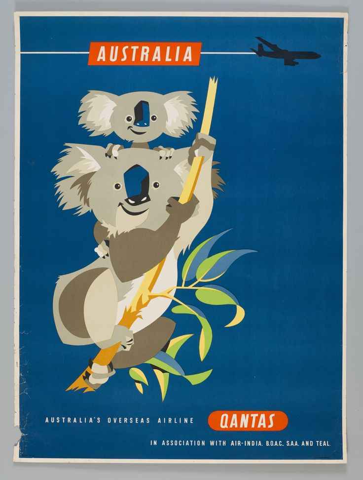 Another vintage Qantas poster