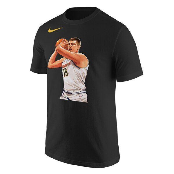 Nikola Jokic Denver Nuggets Nike Jugend 2019 NBA Playoffs Gebundener Held T-Shirt …   – Basketball Pictures