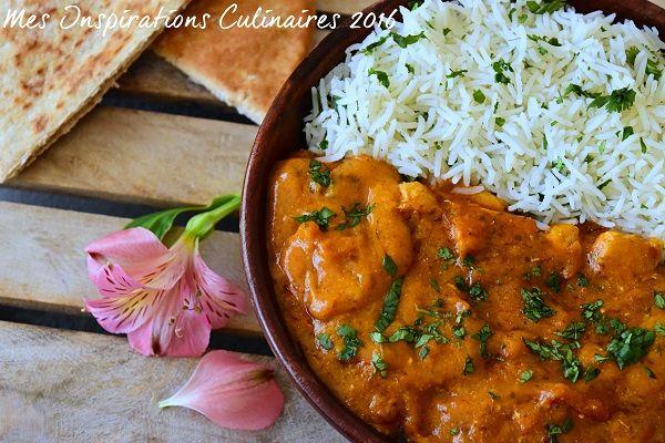Le butter chicken, recette indienne                                                                                                                                                                                 Plus