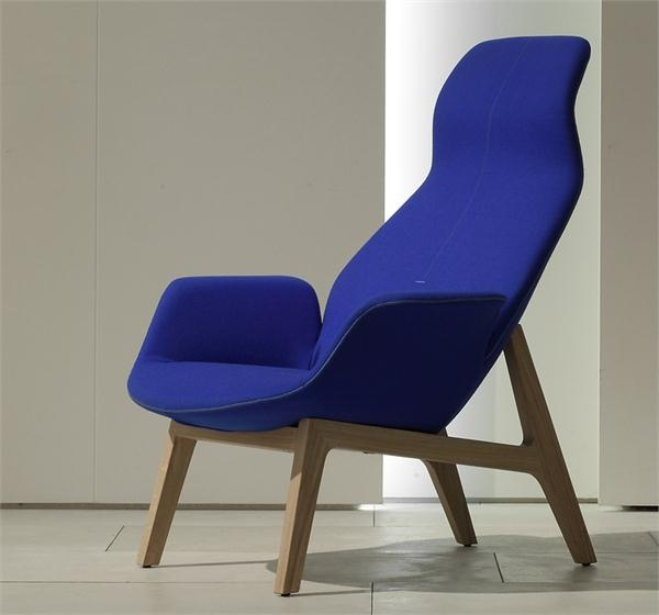 Blue Ventura Lounge Chair From Poliform USA
