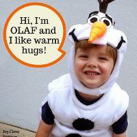Olaf Frozen Costume PDF Pattern - via @Craftsy