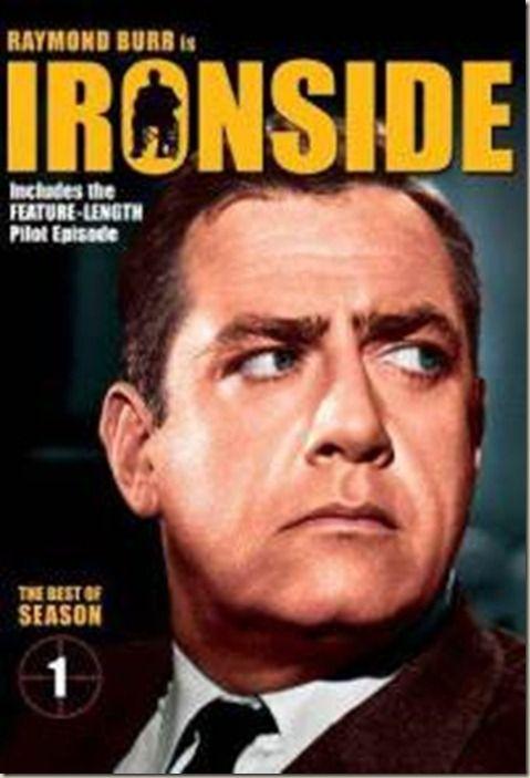 IRONSIDE. 1967-1975 Raymond Burr   Etsivä Ironside