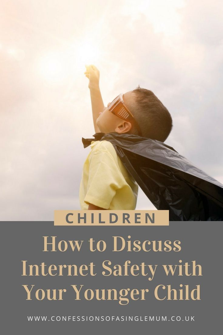 How to Discuss Internet Safety with Your Younger Child kids