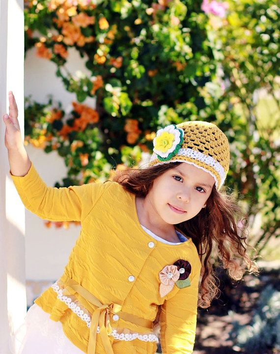 Hey, I found this really awesome Etsy listing at https://www.etsy.com/listing/228107110/girl-summer-hat-cotton-crochet-hat