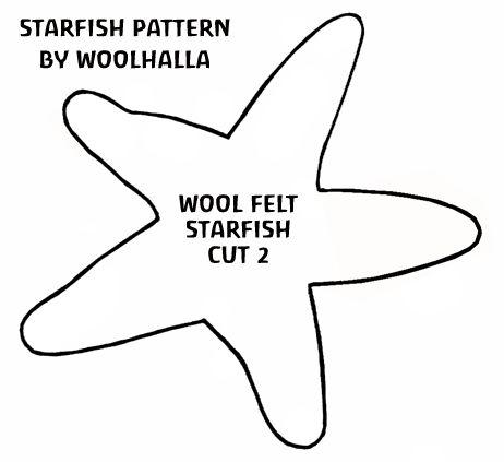 Free Felt Craft Patterns   How To: Make a Felt Starfish   Natural Kids Team