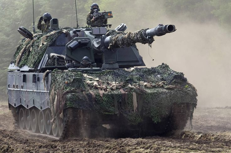 Dutch Panzerhaubitze 2000 (PzH 2000) [2044  1362]