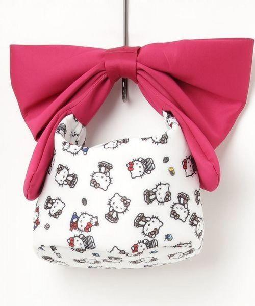 3dff34194 Hello Kitty Ninamew Big Ribbon Tote Bag   Hello kitty bags & shoes   Hello  kitty bag, Kawaii bags, Hello kitty purse