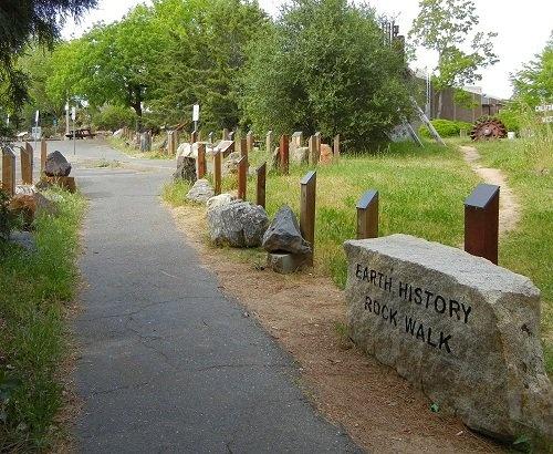 Sierra College Rock Walk