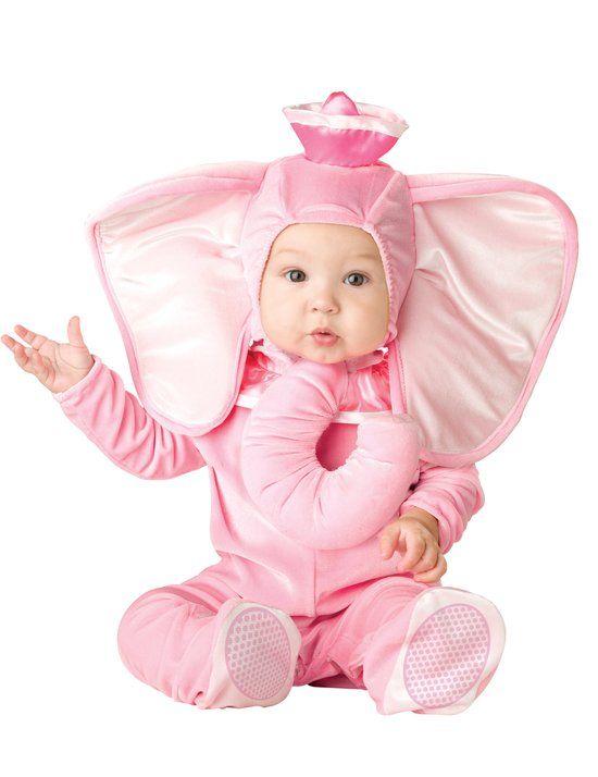 Roze olifant kostuum voor baby's - Premium  - Verkleedkleding - 86/92