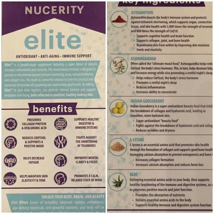 "Live an ""ELITE"" Life!  www.buynucerity.com/153418"