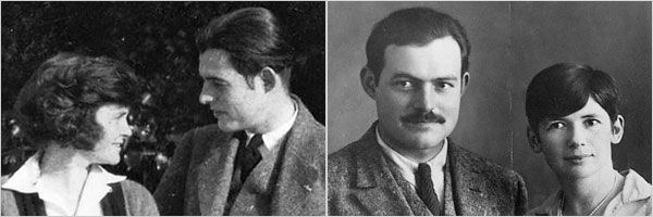 """The Paris Wife "" Here is a photos of Earnest Hemmingway, and his first wife, and the home wrecker Pauline!"