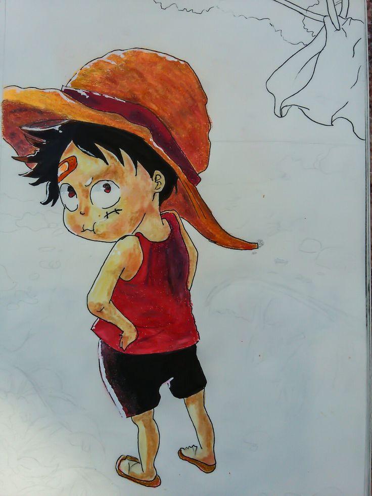 One Piece Chibi Monkey d. Luffy