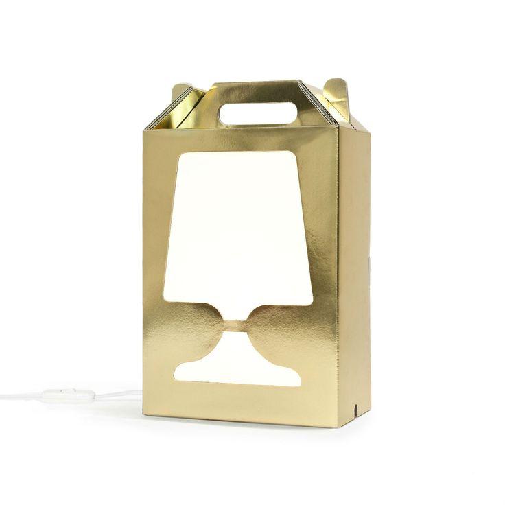Unique Lampe poser Or Blanc Hcm FLAMP