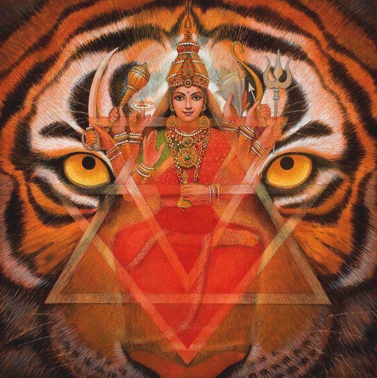 Hindu Poster Art: 31 Best Durga Images On Pinterest