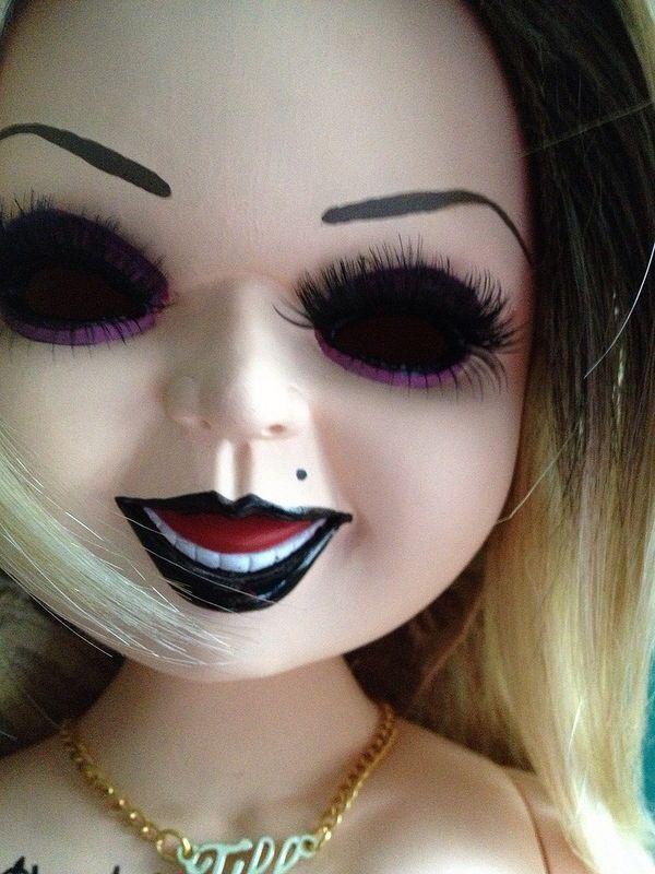 Custom Tiffany doll Mod: Close up of lashes | Custom ...