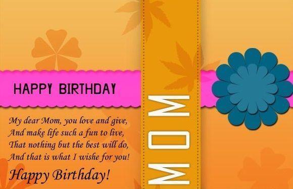 Happy Birthday Wishes to Mom