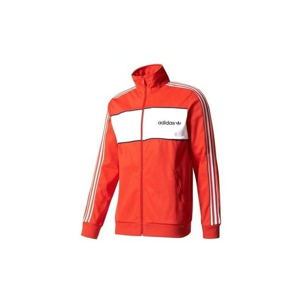 adidas BK7840 Jacket Man Red Tracksuit jacket ($78) ❤ liked on Polyvore featuring men's fashion, men's clothing, men's outerwear, men's jackets, men, red, sportswear, mens jackets, mens red jacket and adidas mens jackets