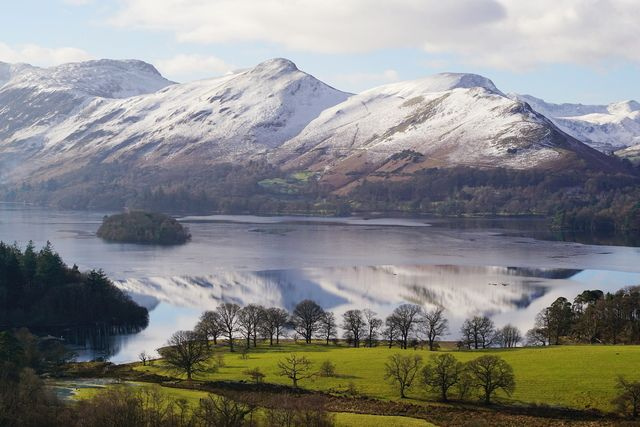 Catbells from Castlehead viewpoint